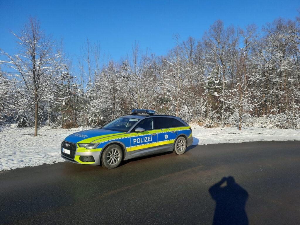 """""""Schöne Wintergrüsse von der BAB4 aus Thüringen von Antje und Steffen."""""""