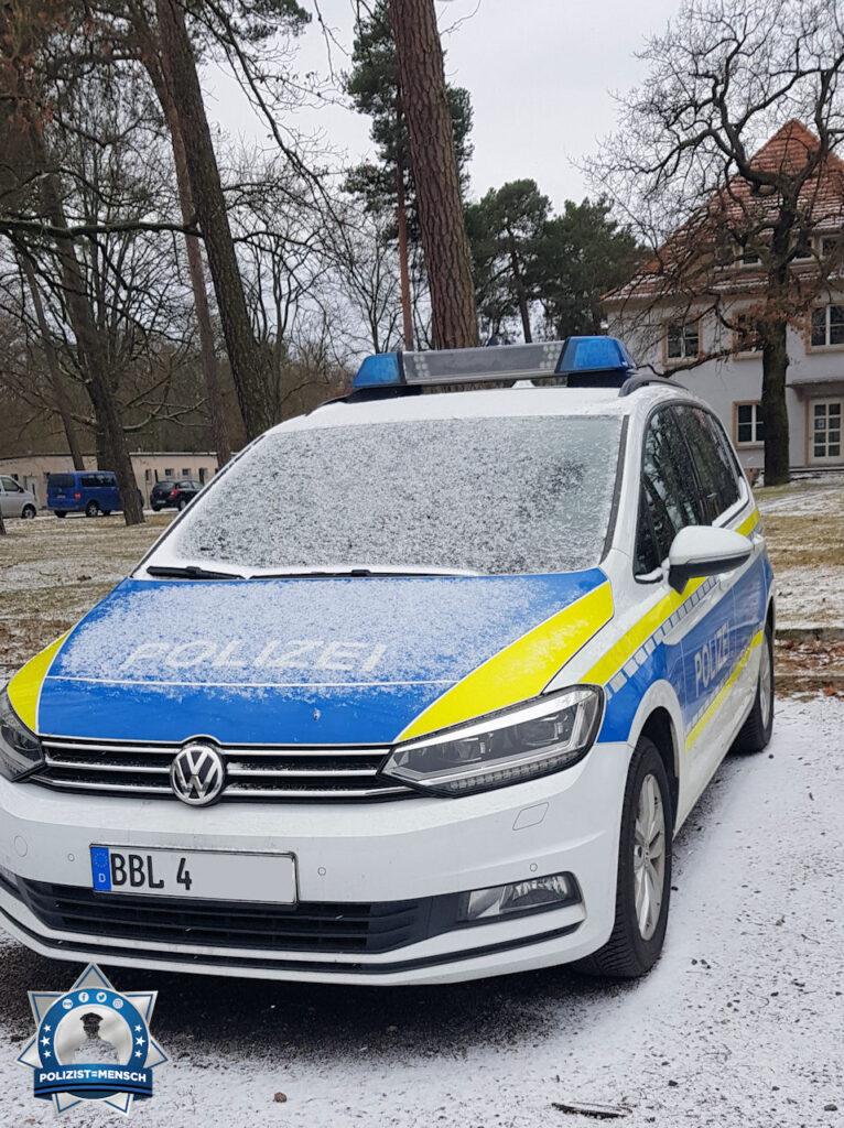 """""""Liebe Grüße von der leicht eingeschneiten Hochschule der Polizei des Landes Brandenburg und bleibt alle Gesund! Olli"""""""