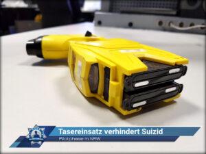 Pilotphase in Nordrhein-Westfalen: Tasereinsatz verhindert Suizid