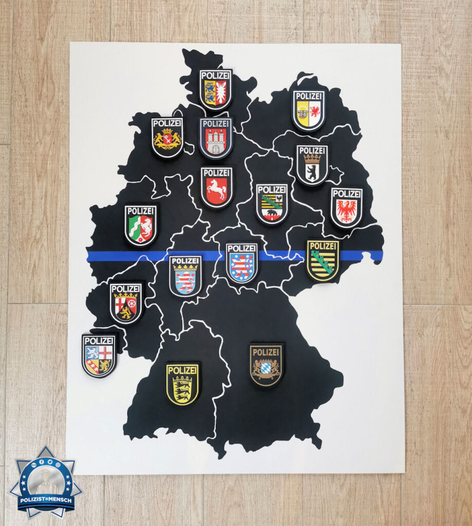 """""""Hallo Polizist=Mensch-Team! Ich habe die coronafreie Studienzeit kreativ genutzt. Viele Grüße aus Mönchengladbach. Stay safe! Andri, Kommissaranwärter"""""""