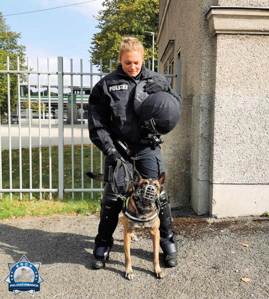 Anna und ihr Diensthund Kenai nehmen euch mit auf ihrem Alltag