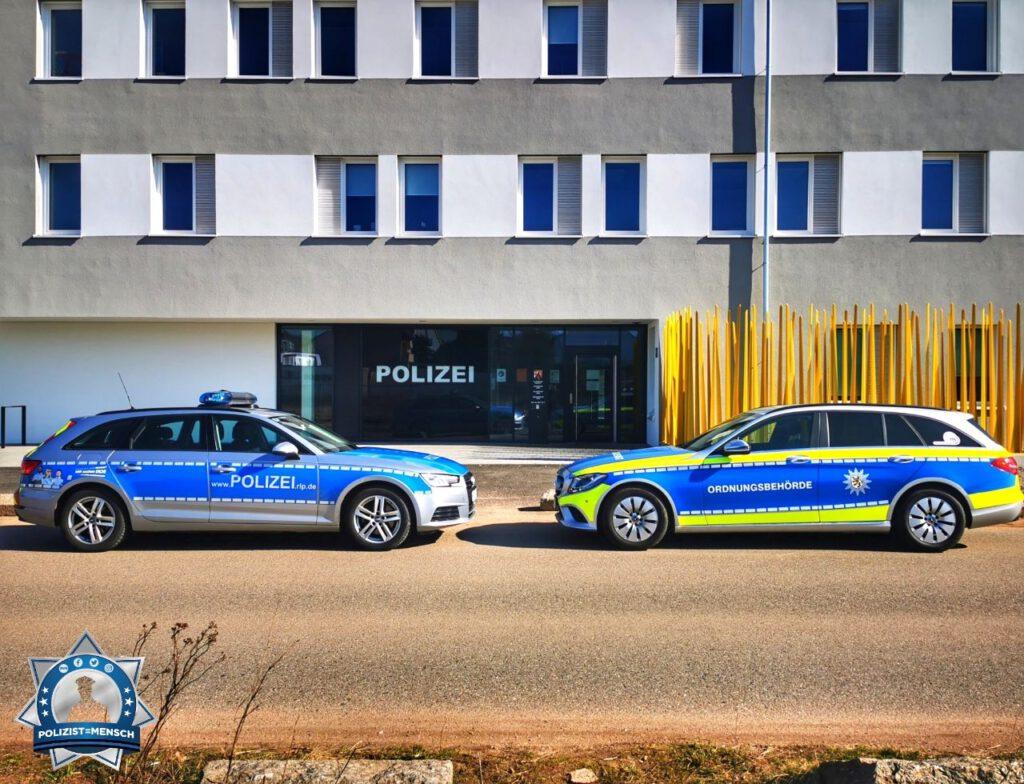 """""""Hallo, anlässlich des 3. Corona-Landeskontrolltag in Rheinland-Pfalz hat in Landau eine gemeinsame Kontrolle mit dem Ordnungsamt und der Polizei stattgefunden. Liebe Grüße aus der Pfalz. Chris und Eileen."""""""