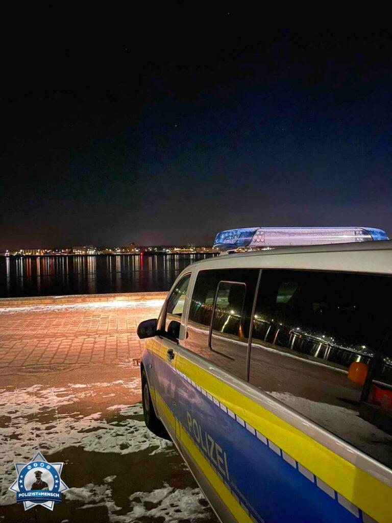 """""""Bei uns in Kiel liegt nur wenig Schnee, aber auch wir haben -10 Grad. Arbeiten, wo andere Urlaub machen. Liebe Grüße aus Kiel."""""""