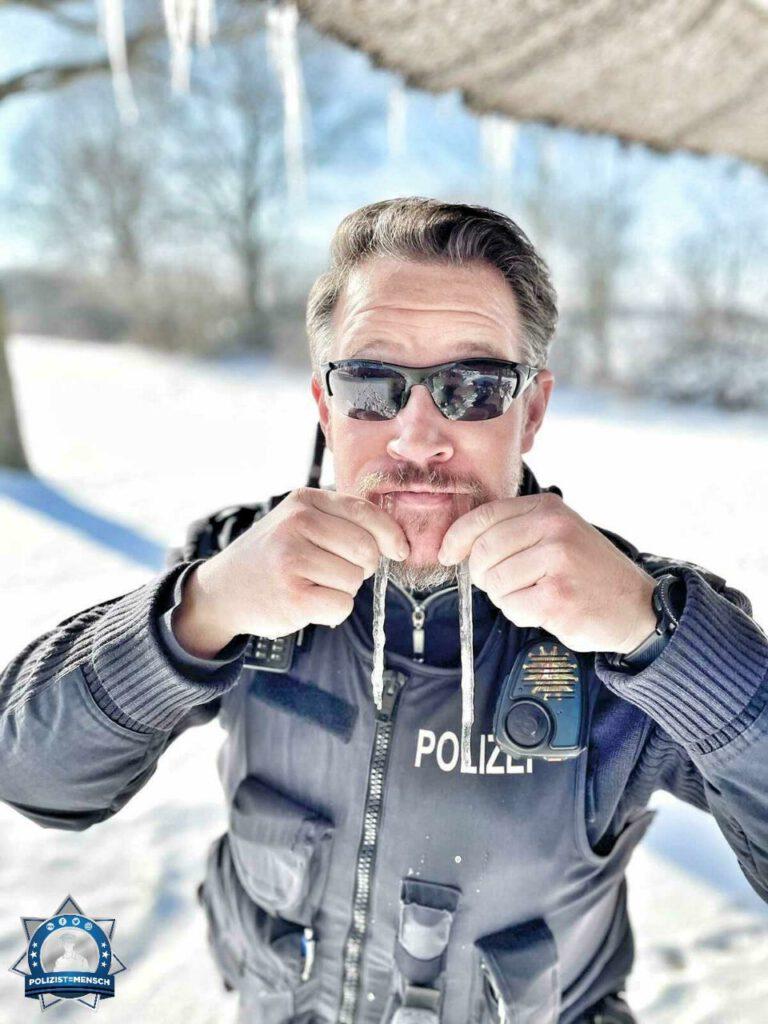 """""""Windig, kalt, norddeutsch eben... Jetzt auch noch mit einer Extraportion Schnee. Kommt gesund nach Hause und viele Grüße von der Ostsee! Tobi"""""""