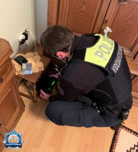 Die Polizei, dein Freund und Fernmeldetechniker ☎️
