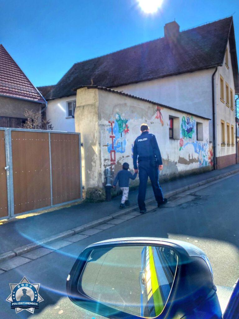 Bild des Tages: Wenn Kinder Polizisten vertrauen