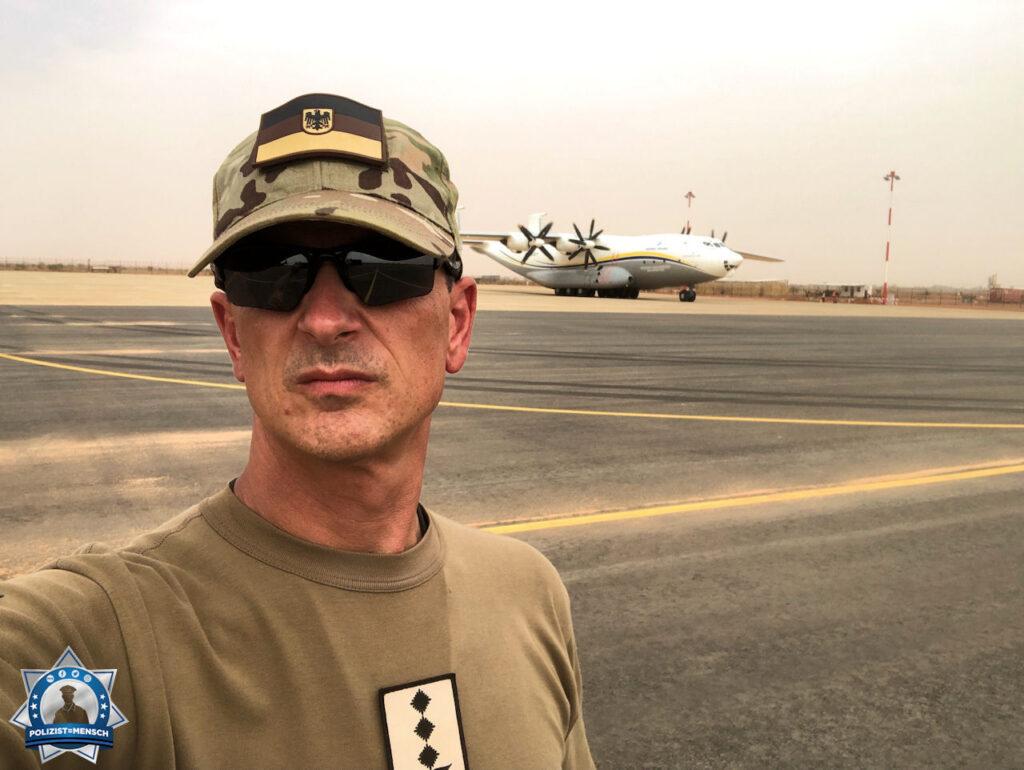 """""""Boris sendet Grüße an alle Einsatzkräfte aus dem MINUSMA Einsatz im Niger, da die Antonov sonst alles transportiert."""""""