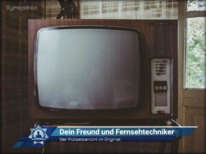 Der Polizeibericht im Original: Dein Freund und Fernsehtechniker