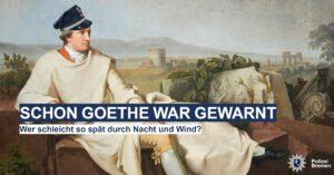 Frei nach Goethe: Einbruchsprävention ein Gedicht