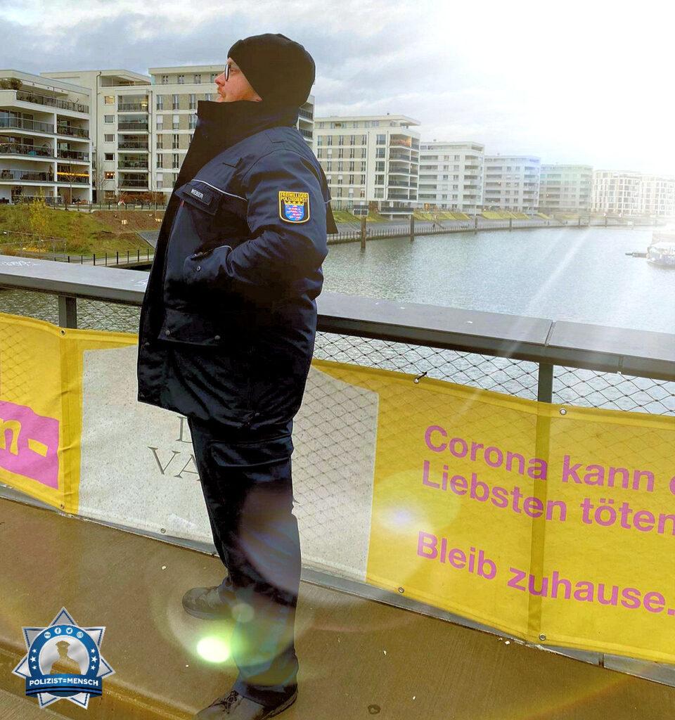 Ich sende euch allen liebe Grüße vom Freiwilligen Polizeidienst des Landes Hessen
