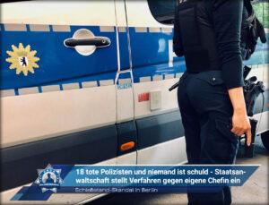 Schießstand-Skandal in Berlin: 18 tote Polizisten und niemand ist schuld - Staatsanwaltschaft stellt Verfahren gegen eigene Chefin ein