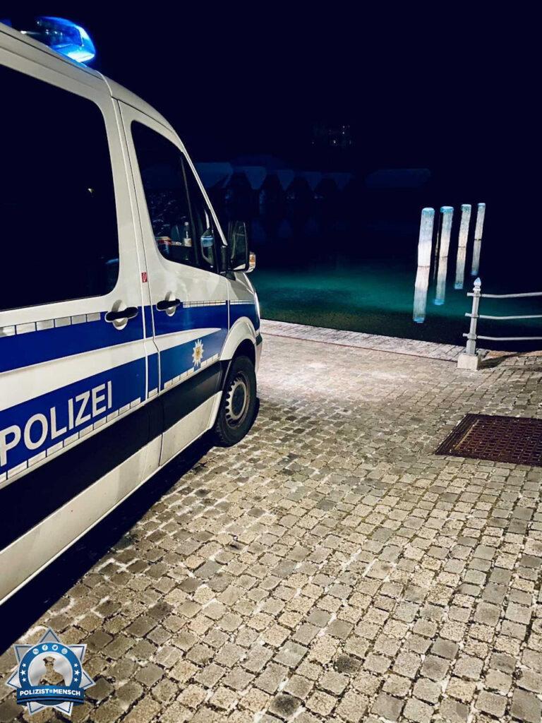 """""""Grüße von der Bundespolizei Bad Düben, hier im Einsatz am Königssee."""""""