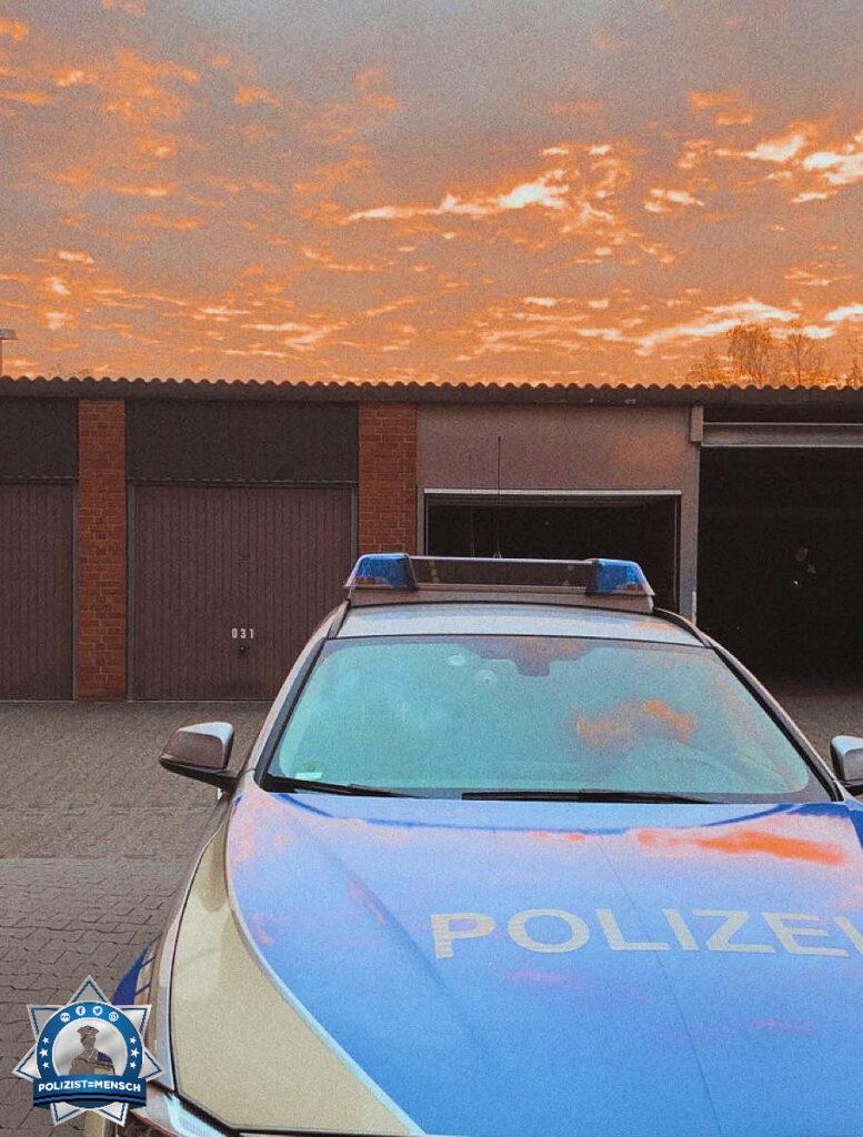 """""""Liebe Grüße aus dem Frühdienst aus der Polizeiwache Nord in Alsdorf."""""""
