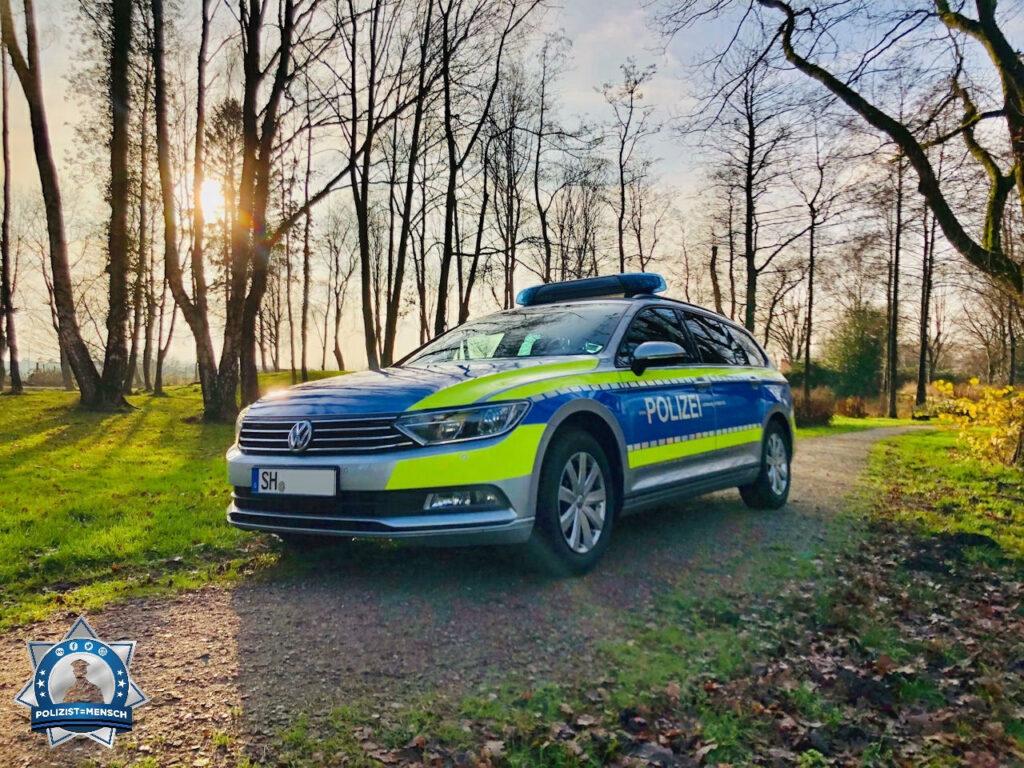 """""""Sonnige Grüße vom 1. Polizeirevier Flensburg."""""""