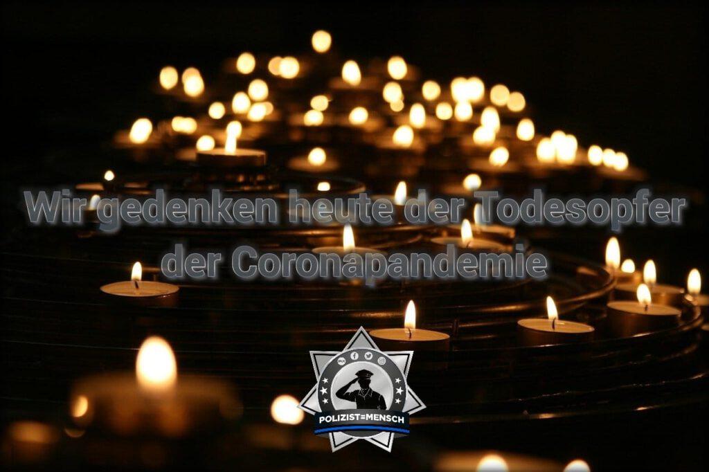Wir gedenken heute der Todesopfer der Corona-Pandemie