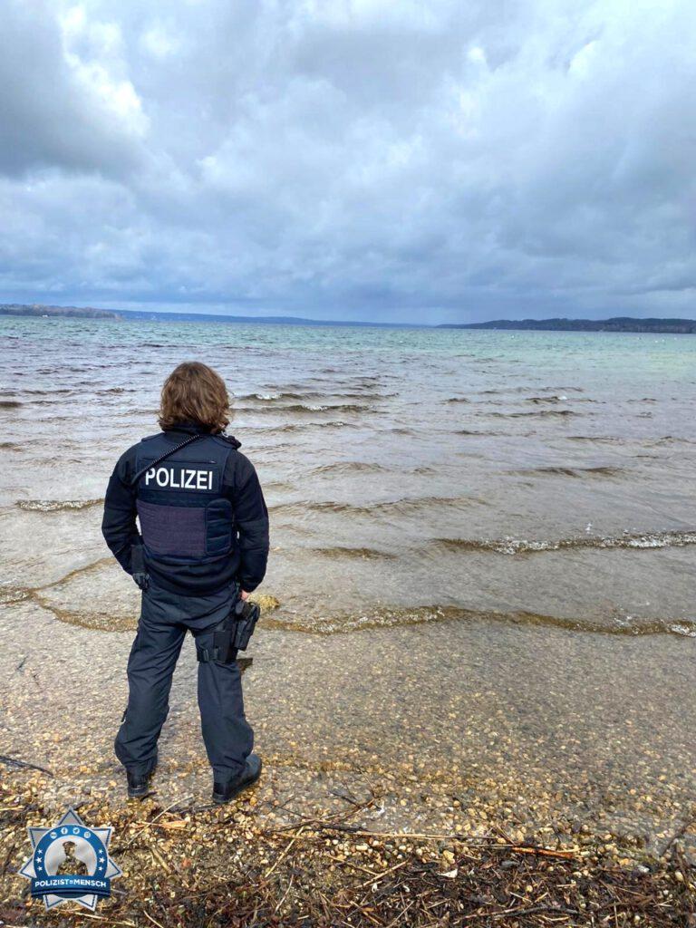 """""""Kurze Pause am Starnberger See. Liebe von Lukasz 😊"""""""