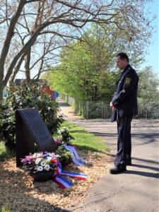 Unvergessen: Stilles Gedenken an Michèle Kiesewetter
