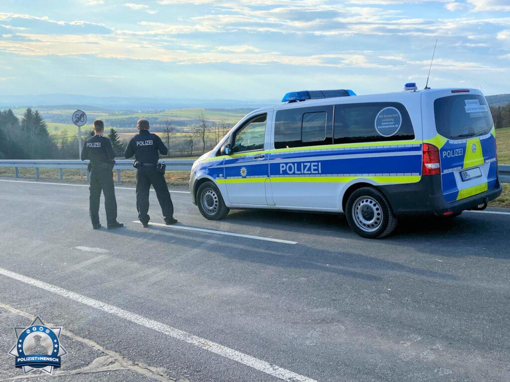 Im Corona-Einsatz an der tschechischen Grenze