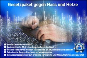 Gesetzpaket gegen Hass und Hetze in Kraft getreten