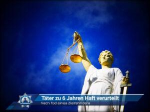 Nach Tod eines Zielfahnders: Täter zu 6 Jahren Haft verurteilt