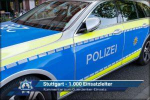 Kommentar zum Querdenker-Einsatz: Stuttgart - 1.000 Einsatzleiter