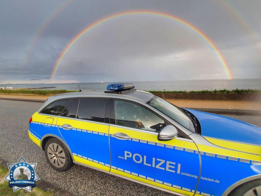 """""""Liebe Grüße von der Autobahnpolizei Scharbeutz, Chris und Paul 😊 bleibt gesund, liebe Kollegen 🙂"""""""