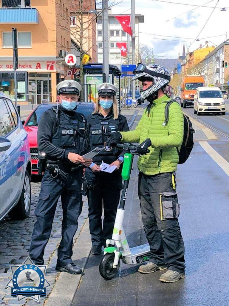 """""""Vorgestern bundesweite Fahrradkontrollen in Nordhessen. Es geht um die Sicherheit der Bürger auf den Fahrrädern und Scootern 😊"""""""