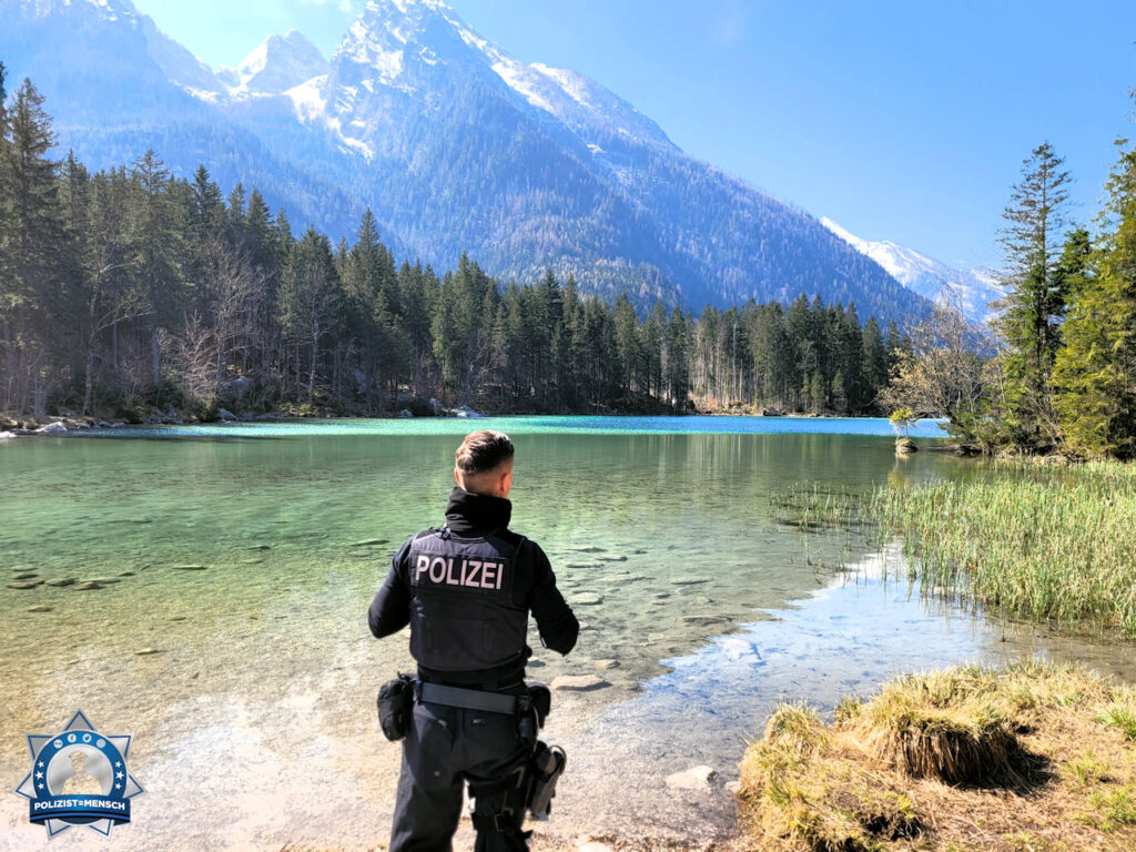 """""""Liebe Grüße aus Bayern von der Bundespolizei! ☀️"""""""