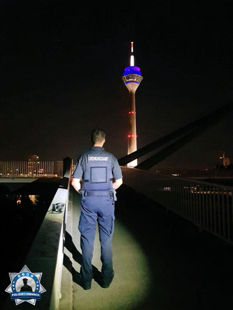 """""""Spätdienst in Nordrhein-Westfalen. Kollegiale Grüße aus der Landeshauptstadt Düsseldorf... Andri!"""""""