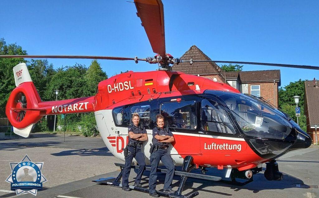Gemeinsam mit dem Fliegern der DRF Luftrettung
