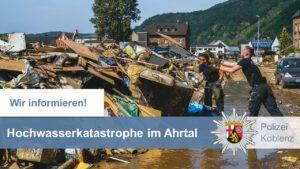 Hochwasserkatastrophe: Wichtige Informationen