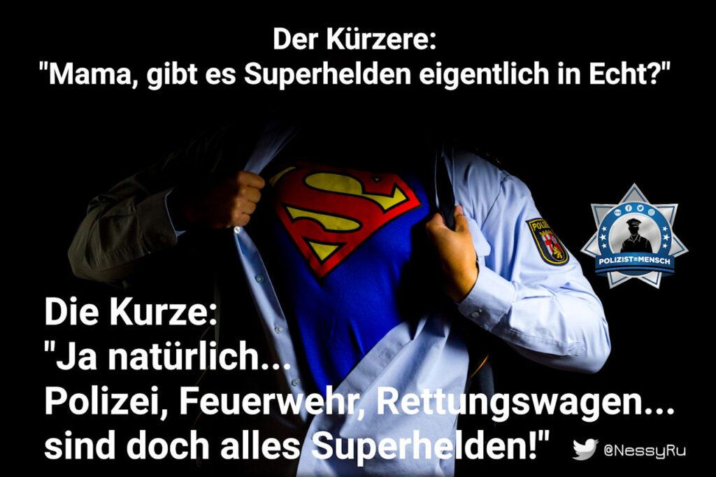 Kindliche Weisheit zu Superhelden