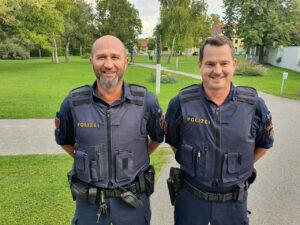 In letzter Sekunde: Polizisten werden zweimal zu Lebensrettern