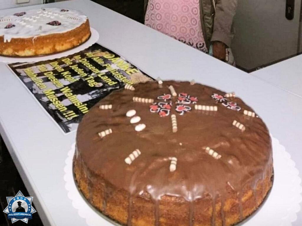 """""""Ich gehe seit Jahren zum Danke-Polizei-Tag zu unserem Abschnitt und bringe dort Kuchen vorbei."""""""