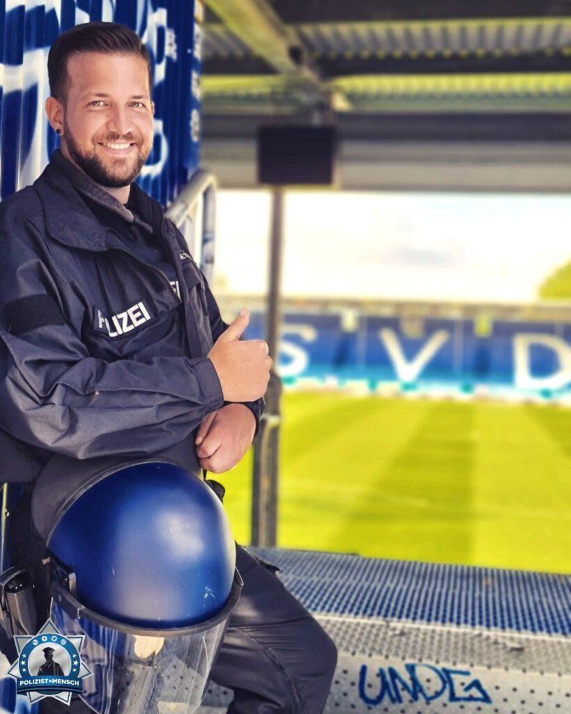 """""""Liebe Grüße aus dem Darmstädter Stadion. Euer Dawid."""""""