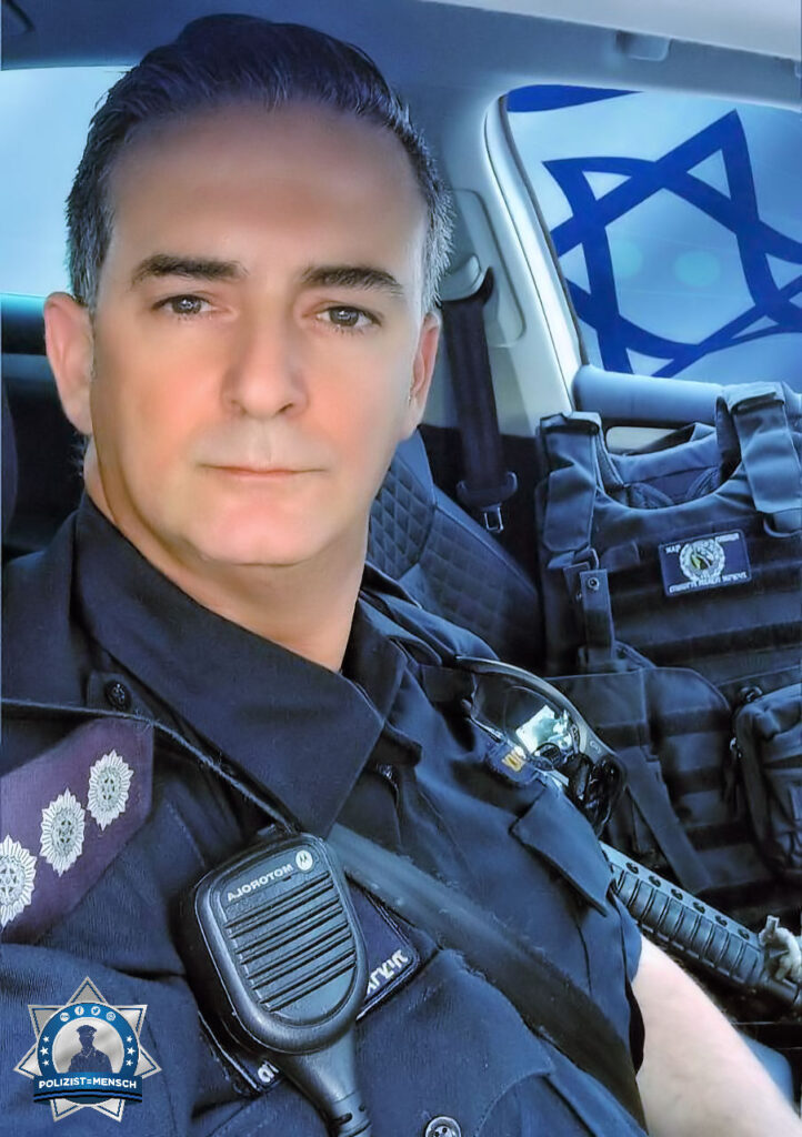 """""""Warm and health greetings from the National Highway Police Department in Israel. Stay blue."""""""