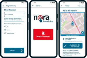 Digitalisierung: Notruf-App in Deutschland gestartet