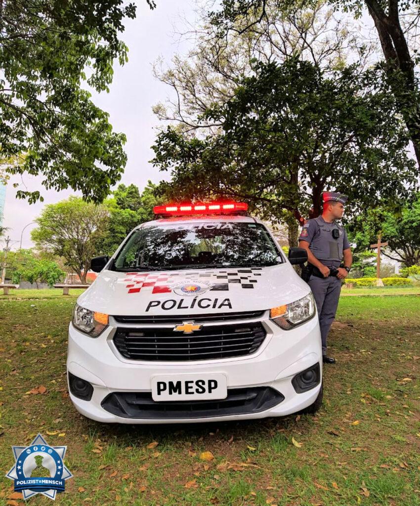 Grüße von der Militärpolizei in Sao Paulo