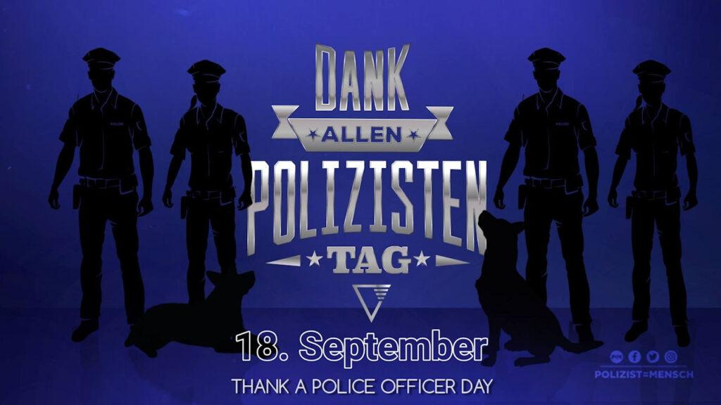 Dank-allen-Polizisten-Tag 2021 (Thank a Police Officer Day)