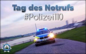 Tag des Notrufs: Polizeibehörden nehmen euch mit auf Streife