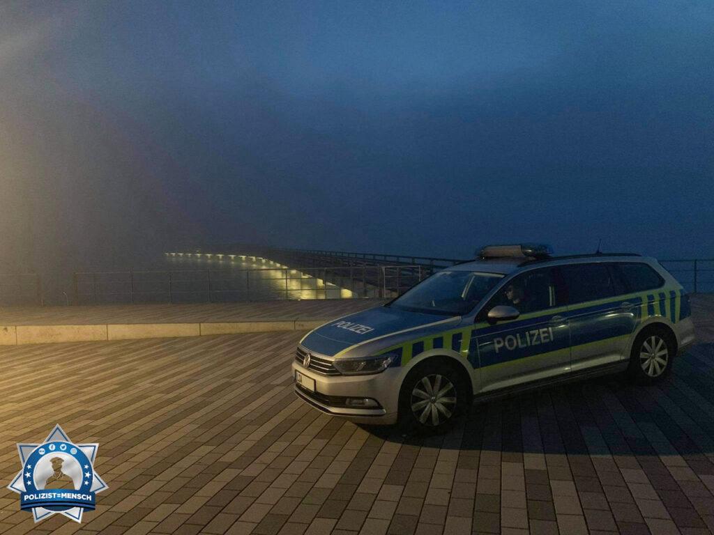 """""""Schöne Grüße aus der Nachtschicht im Saalekreis, hier an der Seebrücke Braunsbedra, von Johannes und Philipp"""""""