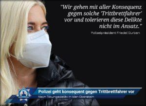 Nach Tötungsdelikt in Idar-Oberstein: Polizei geht konsequent gegen Trittbrettfahrer vor